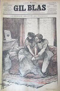 Journal-Gil-Blas-No-No-24-of-1893-Carpenter-Bunting-Drawing-Steinlein-Music
