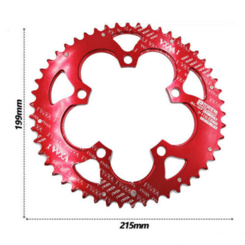 MTB Bike Road Bicycle Racing Double Oval Chainring 50T 110BCD For 9~11 Speed