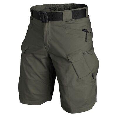 """Helikon Tex 11"""" Utp Urban Tactical Cargo Shorts Pantaloni Outdoor Brevemente Taiga Green M-mostra Il Titolo Originale Alta Qualità"""