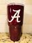 Yeti//Rtic Powder-coated Alabama Crimson Tide Tumbler