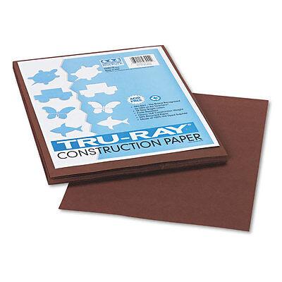 PK Tan PAC103023 9 x 12 50 Sheets//Pack Pacon Tru-Ray Construction Paper