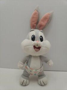 Looney-Tunes-Lovables-Baby-Bugs-Bunny-Plush-Stuffed-Animal-Tyco-Vintage-1995-12-034