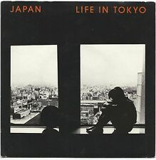 """JAPAN ~LIFE IN TOKYO (SPECIAL REMIX)/ LIT (THEME) 1982 7"""" HANSA 17 w/PIC SLEEVE"""