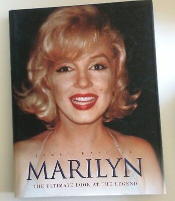 Marilyn: The Ultimate Look at the Legend by James Haspiel HB Marilyn Monroe Book