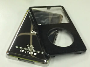 New-Black-Front-Faceplate-512GB-Back-Cover-Housing-for-iPod-5th-5-5-Gen-Video