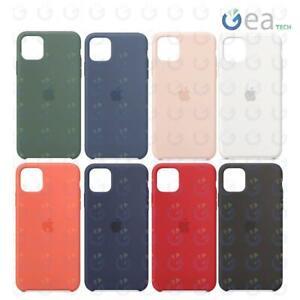 Custodia in Silicone Originale APPLE Per iPhone 11 PRO MAX Back Cover Soft Touch