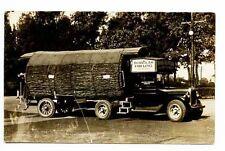Seattle WA Douglas Fir Log Tree Truck Fegely Photo RPPC Real Photo Postcard