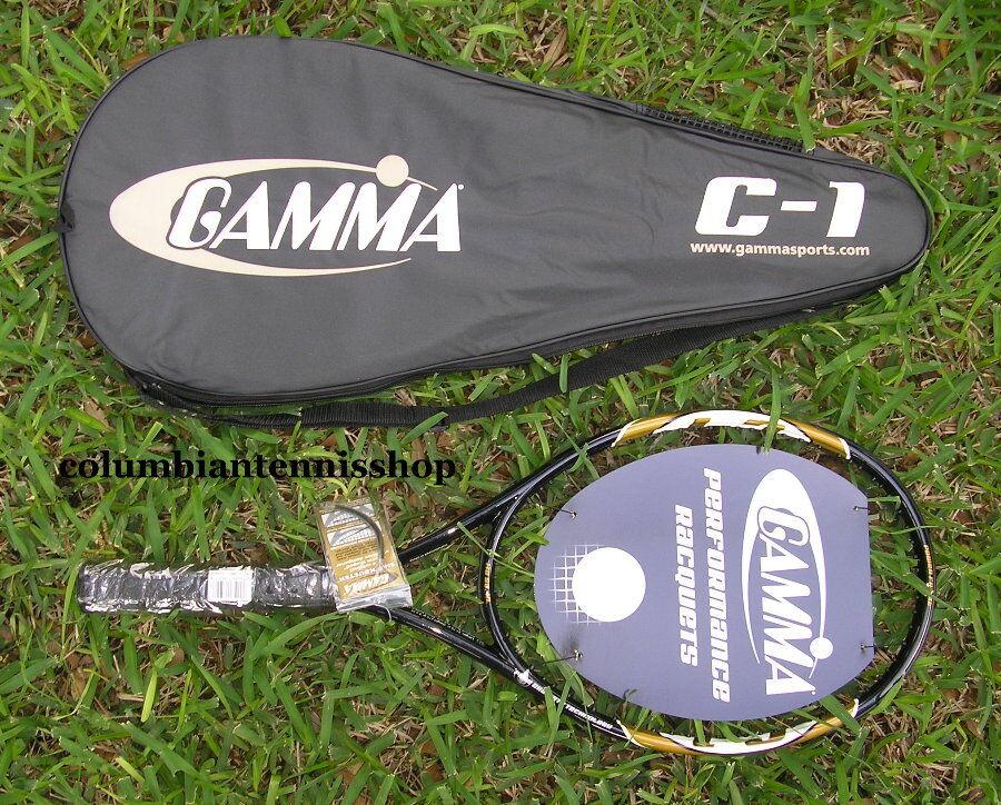 Uno Nuevo Gamma C1 C C-una raqueta de tenis 110 3 8 (3) Raro últimos 1500 Power