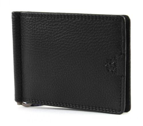 Montura Black Dollar Schwarz Geldklammer Neu Wallet Martina Man Geldbörse La HqSx5Fnw