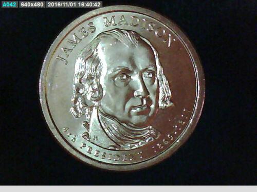 ***James Madison*** *GEM**2007 Presidential Dollar Philly Mint