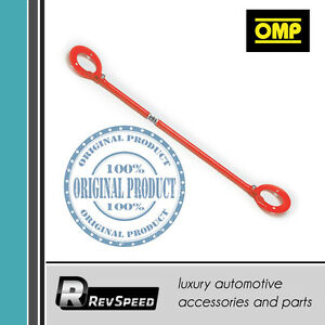 OMP-Italy-Front-Steel-Strut-Bar-Brace-Red-For-Volvo-240-242-244-Turbo-MA-1600