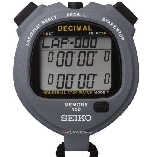 Seiko SO5A Decimal Minute Industrial Stopwatch