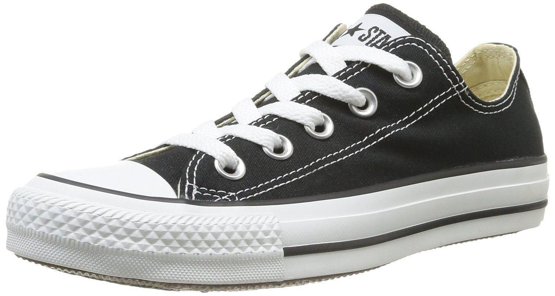 Converse Chuck Taylor All Star Schwarz Weiß Ox Lo Unisex Sneakers Schuhe
