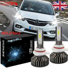 Fits Vauxhall Astra J GTC H1R1 9012 COB LED Headlight Bulbs 8000 Lumens Canbus
