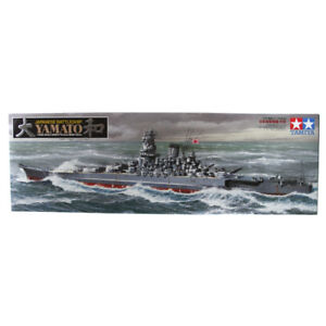 Ensemble de modèles Tataya de cuirassé japonais Yamato à l'échelle 1: 350, kit de bateau 78030 Nouveau 798256881404