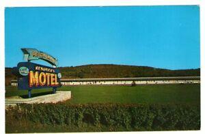 Undated-Unused-Postcard-Kendrick-Motel-Mansfield-Pennsylvania-PA-Rt-15