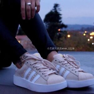 03184ef3f99e Image is loading 1702-adidas-Originals-Superstar-Bold-CG2886-PLATFORM-Women-