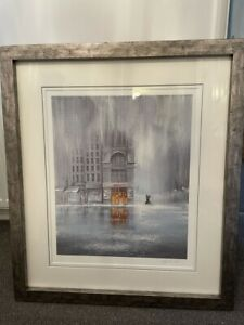 Jeff Rowland framed print - Signed and rare