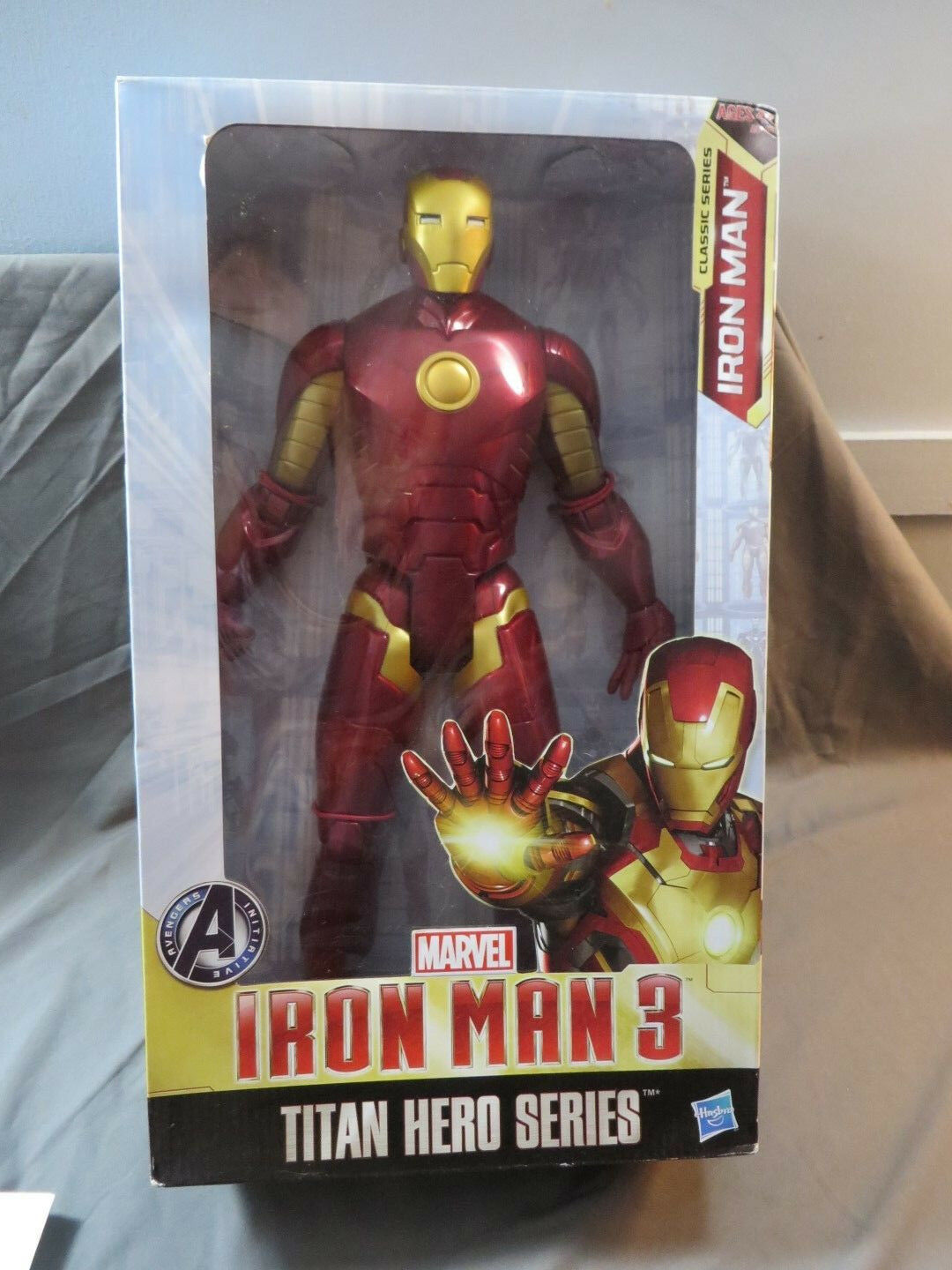 Hasbro marvel - titan held serie  iron man 3 16
