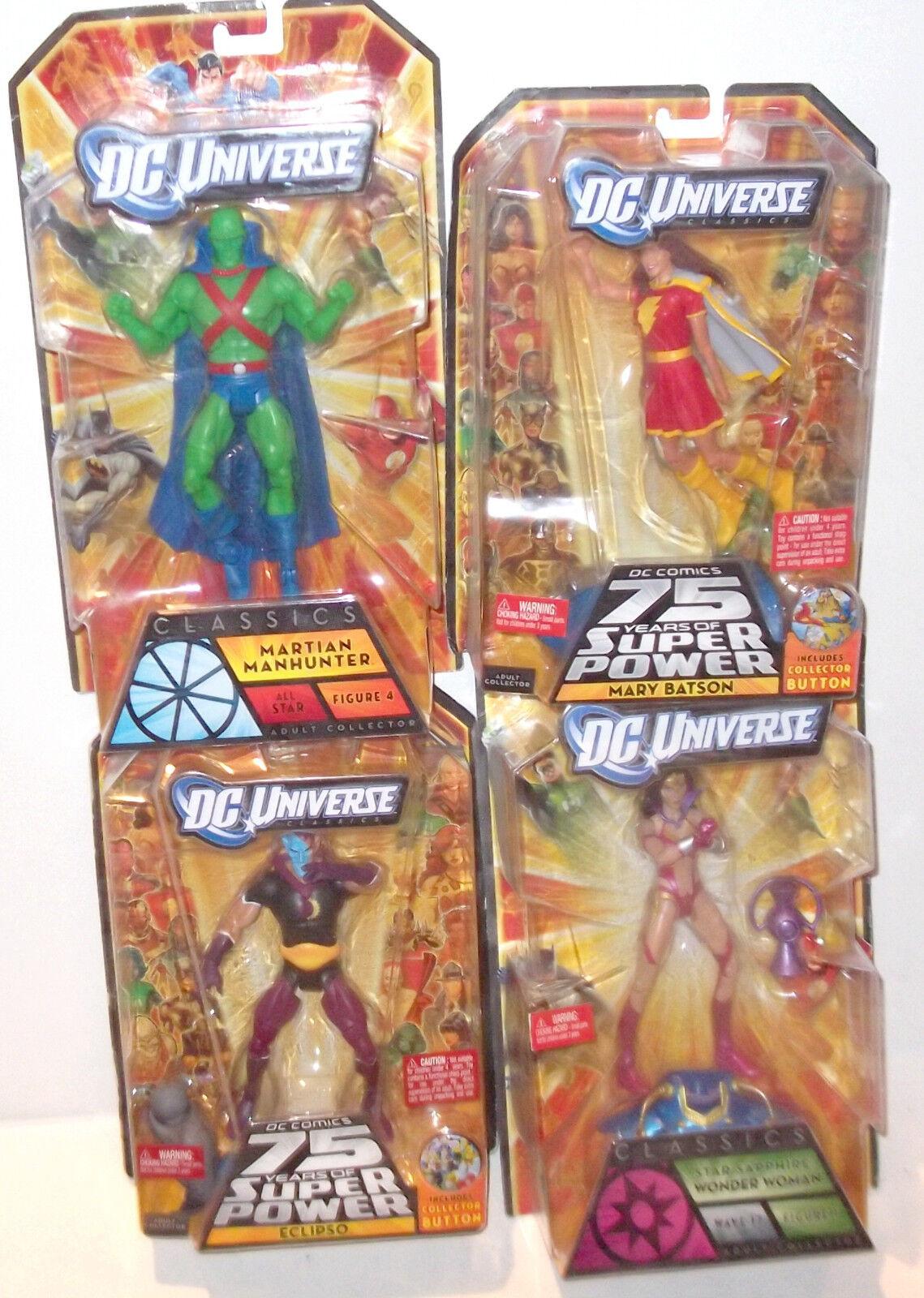 ✰LOT of 4 DC Universe Classics 6