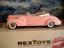 1/43  Rextoys (Portugal)  1938-1940 Cadillac V 16 with figures
