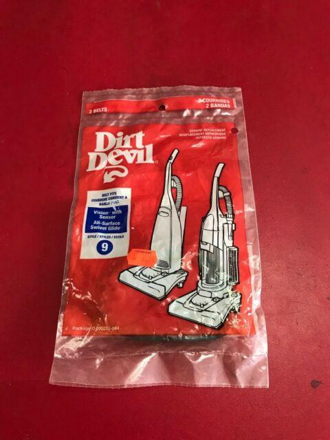 1232240001,3157260001 Dirt Devil Handheld Vacuum Style 1 Belt Single