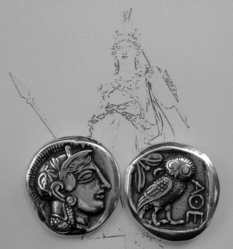Percy Jackson Fans, Greek Gods Collection,Coin # 12S, ATHENA/OWL,Mark of Athena