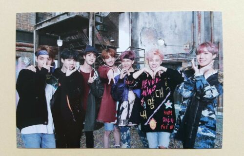 BTS Bangtan Boys Spring Day Fan Meeting Official Photocard - Group