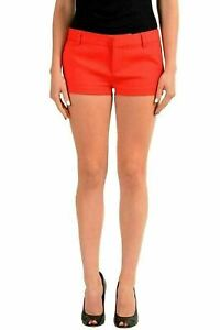 Dsquared2-Red-Women-039-s-Casual-Shorts-US-XS-IT-38