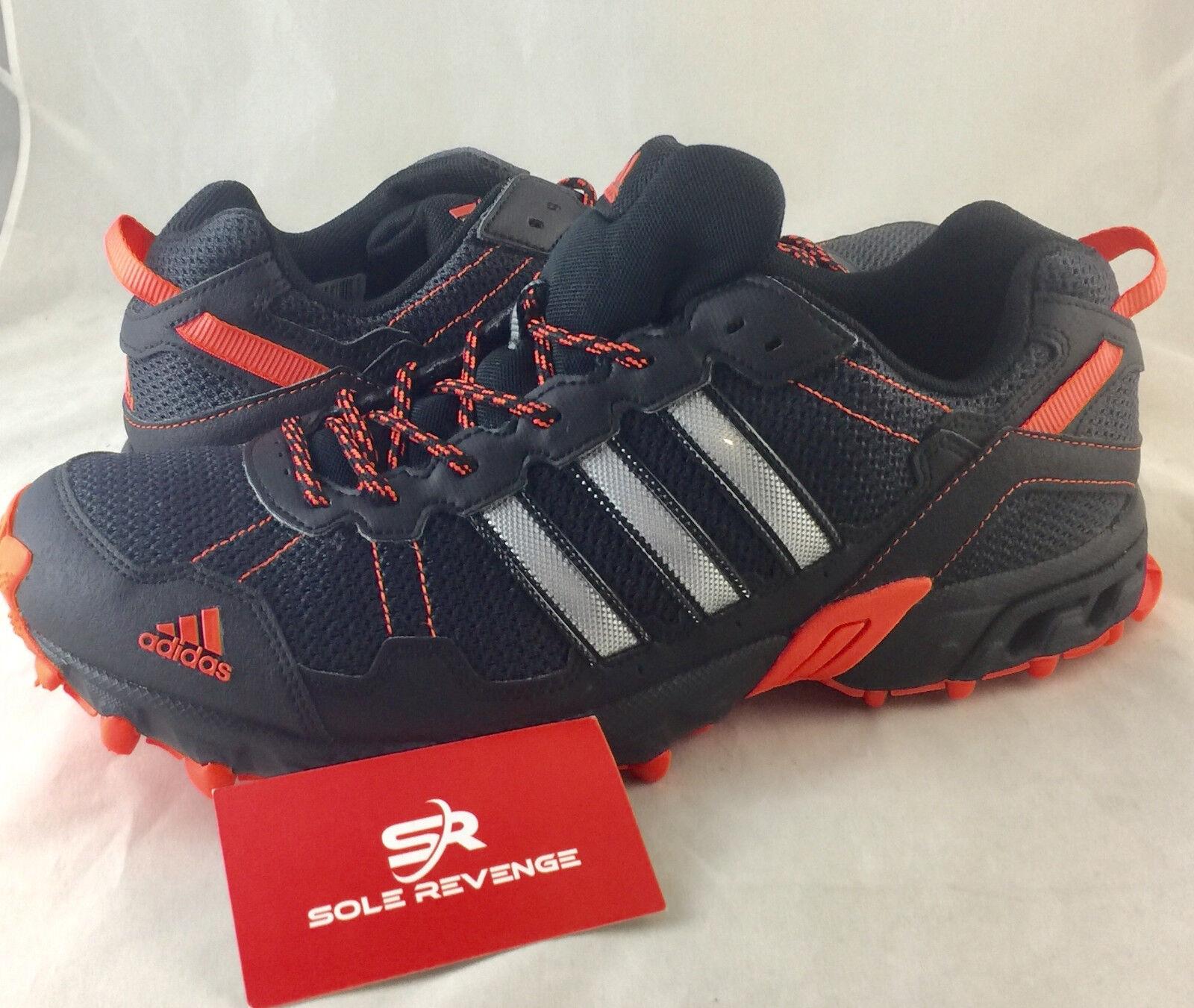 8 New adidas ROCKADIA Trail Running Shoes Black Thrasher Kanadia Vigor BY1790
