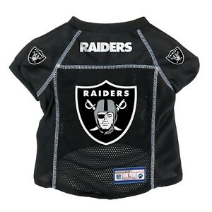 0b4c4c03 Details about NEW OAKLAND RAIDERS DOG PET PREMIUM ALTERNATE JERSEY w/NAME  TAG LE