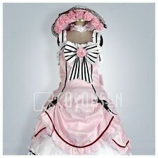 Kuroshitsuji Black Butler Ciel Phantomhive Pink Lolita Dress Cosplay Costume