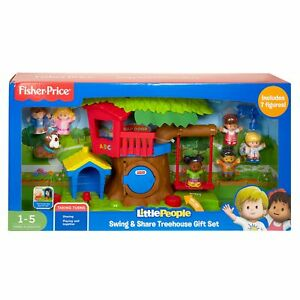 Fisher-Price Little People SWING & SHARE TREEHOUSE Gift ...