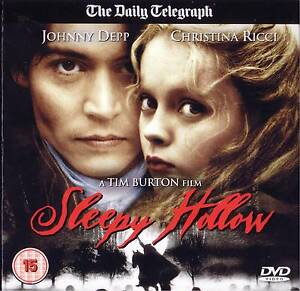 Sleepy Hollow Johnny Depp  DVD - <span itemprop='availableAtOrFrom'>Brighton, East Sussex, United Kingdom</span> - Sleepy Hollow Johnny Depp  DVD - Brighton, East Sussex, United Kingdom