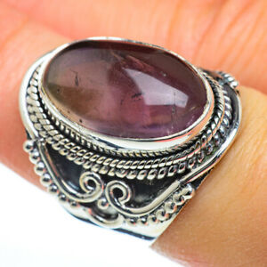 Cacoxenite Amethyst 925 Sterling Silver Ring Size 7.5 Ana Co Jewelry R46802F
