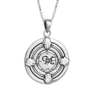 Pendant-Amulet-Kabbalah-Recuperation-Seal-King-Solomon-Sterling-Silver