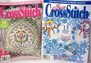 2-Just-Cross-Stitch-Magazines-Winter-Charts-January-February-2011-2012-Issues