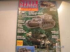 **a Steel masters n°48 Les camouflages Allemands de 1937 à 1945 / Fiat SPA TL37