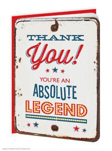 Merci Merci Legende Carte De Vœux Drole Nouveaute Humour 5 10 20