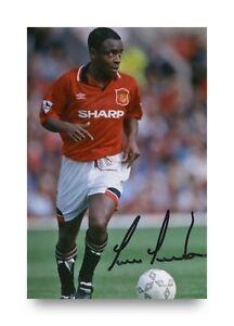 Paul-Parker-Hand-Signed-6x4-Photo-Manchester-United-Autograph-Memorabilia-COA