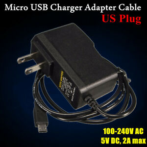 Details about USA Plug 5V 2A Micro USB Charger Adapter Cable Power Supply F  Raspberry Pi B+