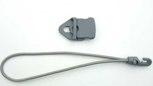 Ösen-Planen-Spanner Spannklammer 25 cm Spannfix grau Je 50 MINI-Bannerclips