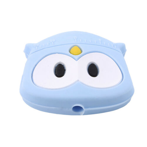 Silicone Cartoon Animal Mini Owl Beads DIY manual Baby Nursing Teeth Teether S