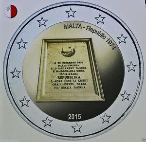 LOT-DE-5-PIECES-2-EURO-COMM-UNC-MALTE-2015-REPUBLIQUE-1974