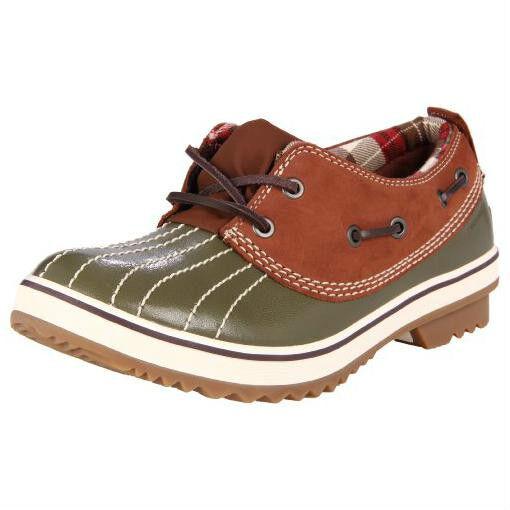 Sorel Tivoli Low II Green/Brown Shoes Boots 5.5