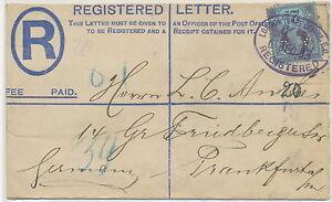 GB-1893-superb-QV-2-D-PS-registered-env-like-Huggins-RP18F-uprated-NOT-LISTED