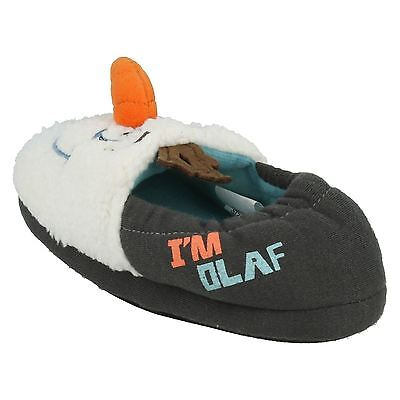 Boys Frozen Olaf Vamp 3 D Slippers By Disney Retail Price £4.99