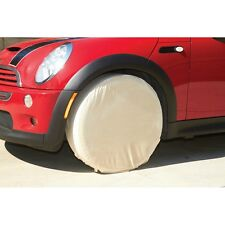 """4 Pc Heavy Duty Canvas Storm-Proof Tire Wheel Wheel Covers Protection Up to 24"""""""