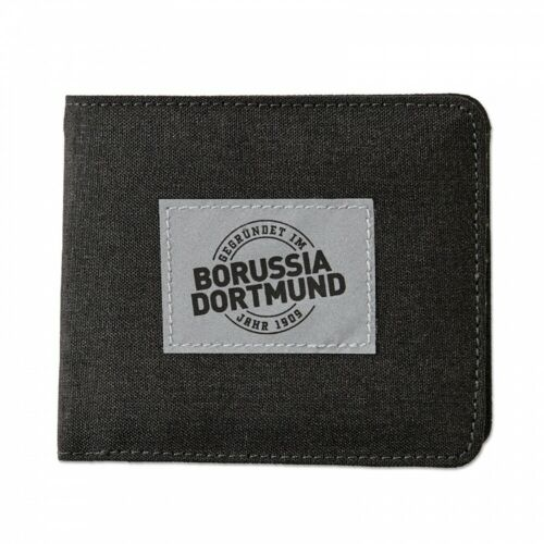plus L Label grau Portmonee BVB 09 Geldbeutel Borussia Dortmund Geldbörse