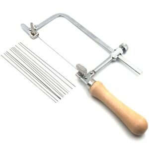 1X-Professional-Adjustable-Saw-Bow-Wooden-Handle-Of-Jewelry-Saw-Frame-Hand-L5G8